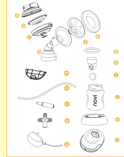 miomee electric breast pump instructions