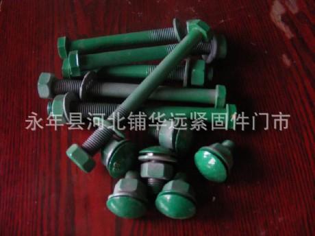 厂家低价m16热镀锌护栏丝螺母平垫现货供应 阿里巴巴