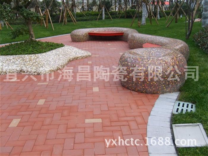 厂家直销陶土烧结砖,红色烧结广场砖图片_9