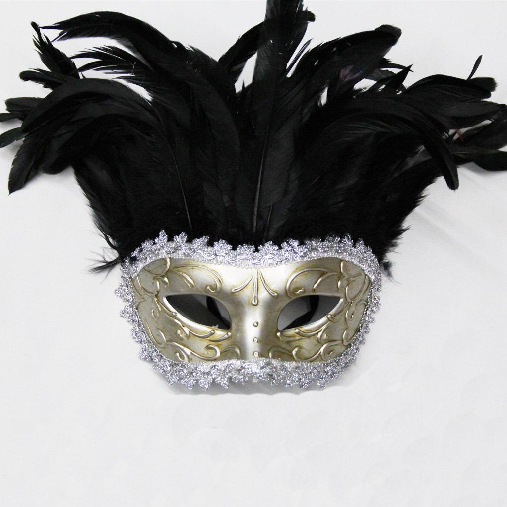 舞会面具 万圣节化妆小美女 纯手工彩绘面具 阿里巴巴