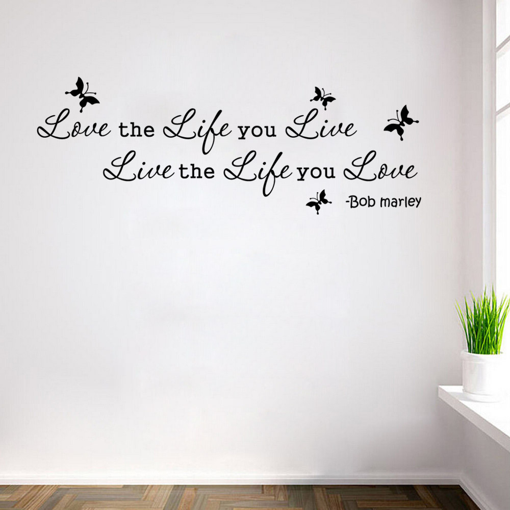 wall sticker home decor removable art vinyl decal quote