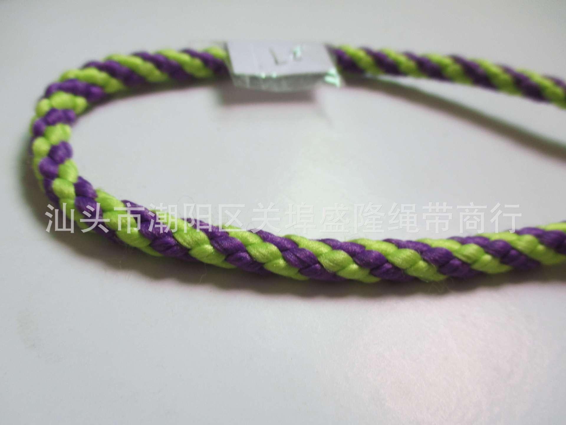 热销供应 双色个性弹力绳 优质礼品红色手提绳