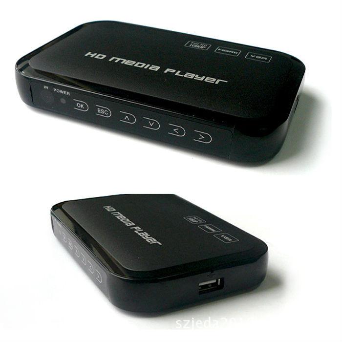 hdmi多功能多媒体影音u盘移动硬盘高清1080p视频播放器 usb播放机图片