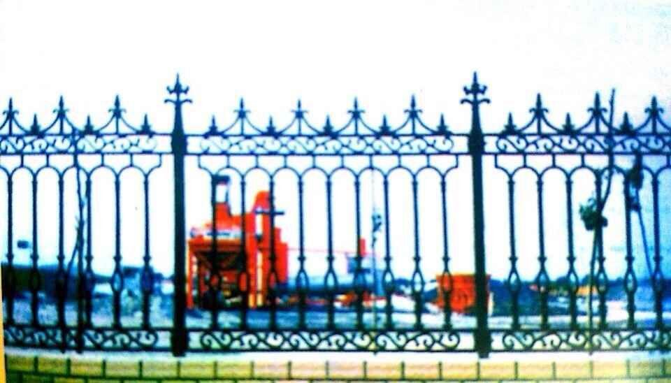 城厂家直销铸铁护栏 铸铁花件 玛钢片 玛钢护栏 铝艺护栏 -铸铁护栏