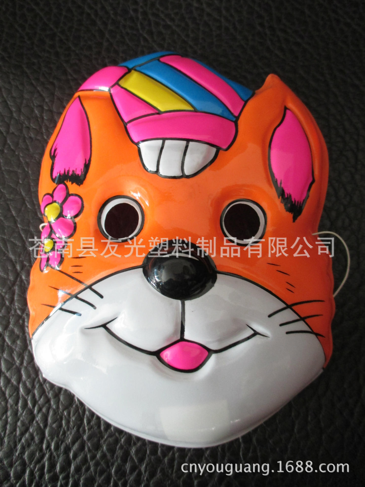 万圣节面具 动物面具 卡通吸塑面具 可定制 万圣节 阿里巴巴