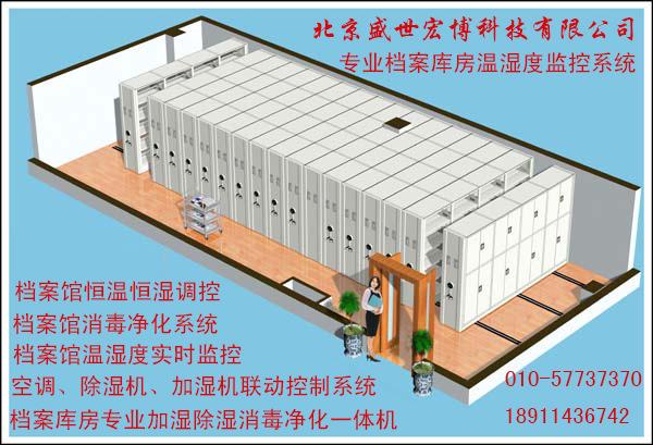 北京盛世宏博科技有限公司专业档案馆环境监控系统