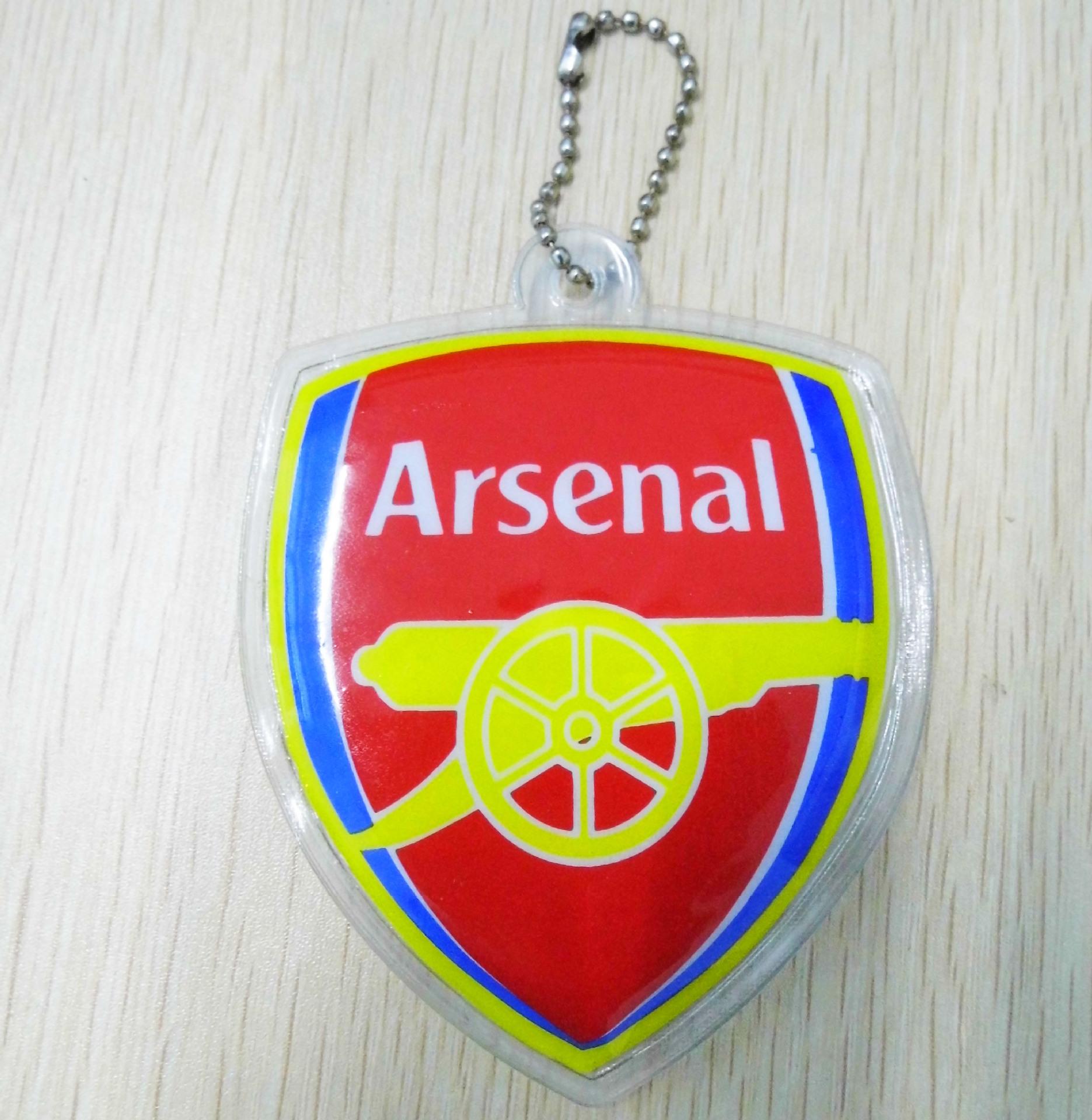 新款皇馬曼聯巴薩切爾西利物鋪啊森娜AC米蘭PVC球衣鑰匙扣掛件