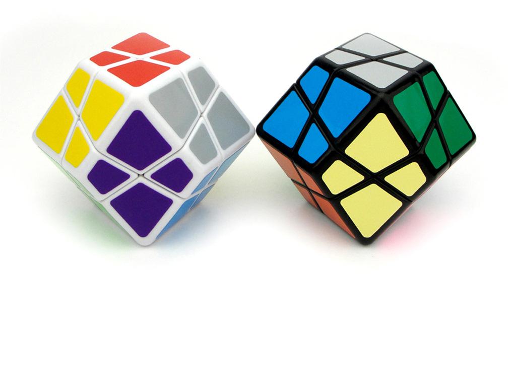 【乐美玩具】新款贴纸石头魔方益智专业比赛专用益智塑胶玩