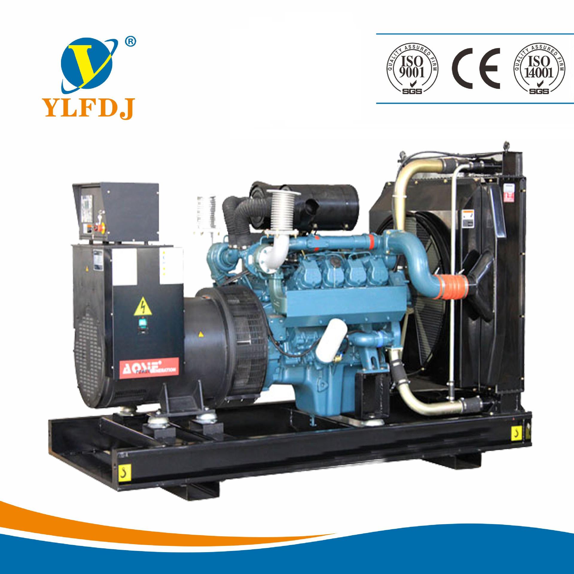 370KW韩国斗山大宇柴油机发电机组 静音型 动力充足 原装进口 -韩国