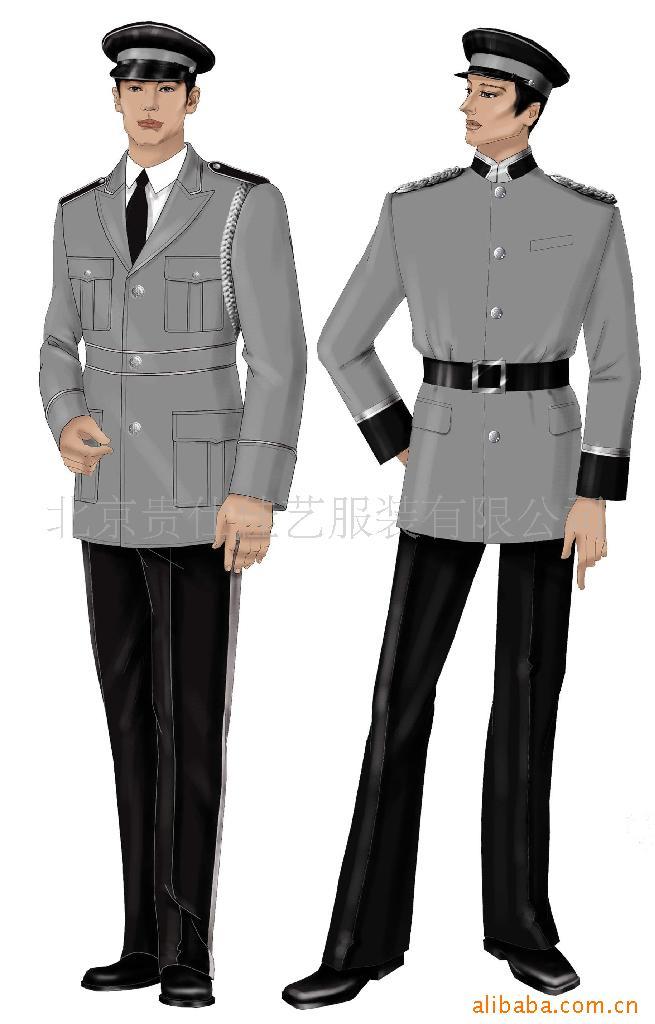 【北京定做保安工作服厂家 标准化的设计 新颖