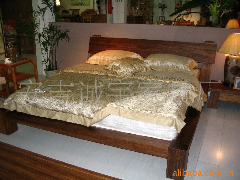 【实木床批发,床 欧式木床